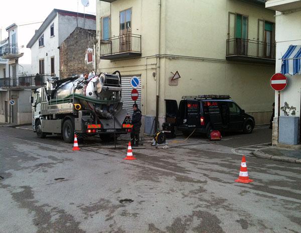 Zoccolan Potenza Basilicata servizi per l'ambiente Video Ispezioni